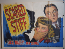 Scared Stiff Film Poster - UK Quad